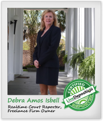 Debbie Isbell Interviewed by LiveDeposition