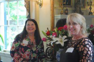 Lou Ann Schell and Karen Strickland Planz