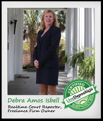 LiveDeposition-Reporter-Spotlight-Debra-Isbell